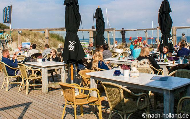 Strandrestaurant Kaap Nord auf Texel