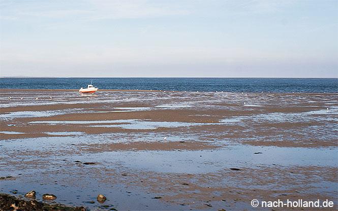 Das Wattenmeer bei Texel
