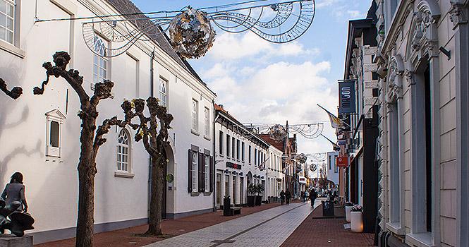Das Städtchen Weert in Limburg
