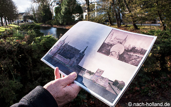 Modell-Foto der Weerter Burg
