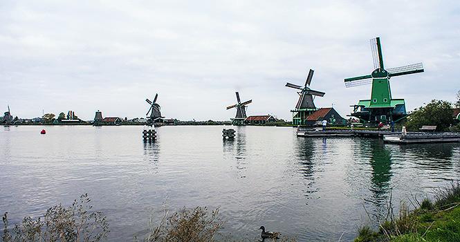 Windmühlen Zaanse Schans