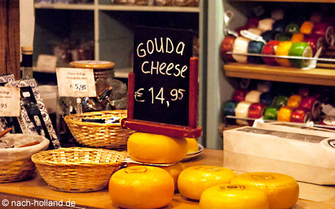 Käse in der Zaanse Schans