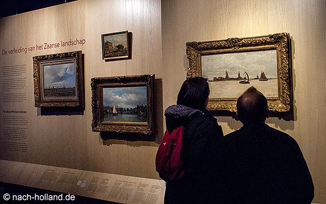 Ein Gemälde von Monet im Zaans Museum