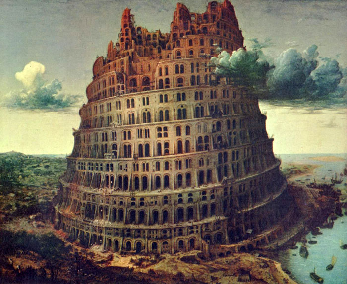 Pieter Bruegel - Turmbau von Babel