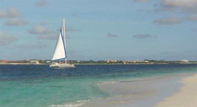 Segeln auf Bonaire, fotograf: Katharina Kruppa