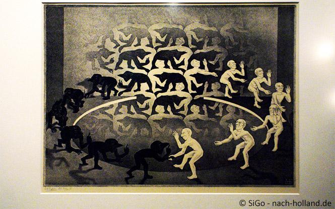 Metamorphose im Museum Escher in het Paleis