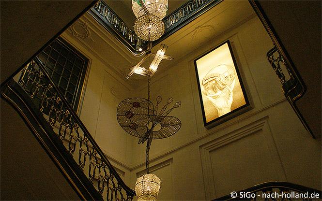 Treppenhaus im Museum Escher in het Paleis
