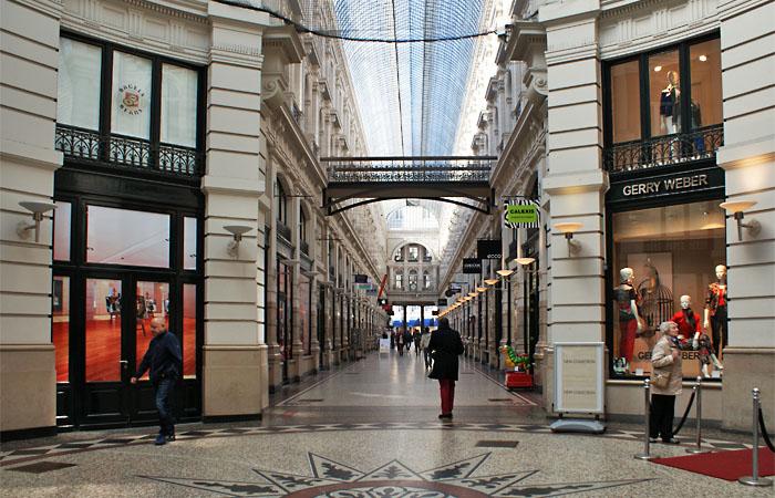 Einkaufspassage in Den Haag
