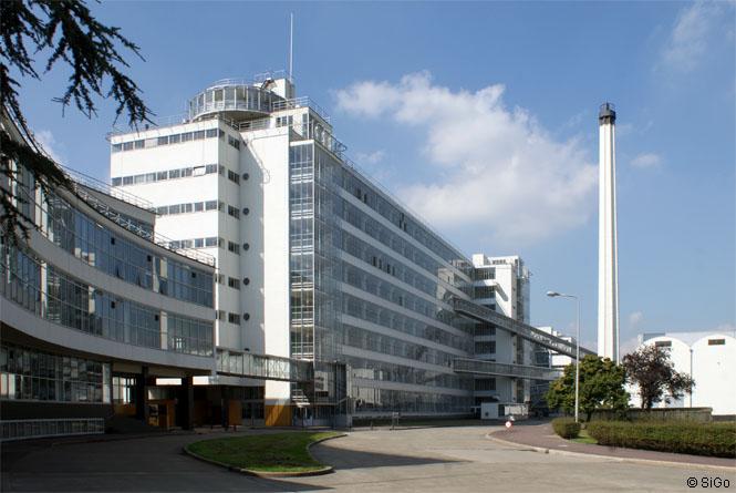 Ansicht der Van Nelle Fabrik