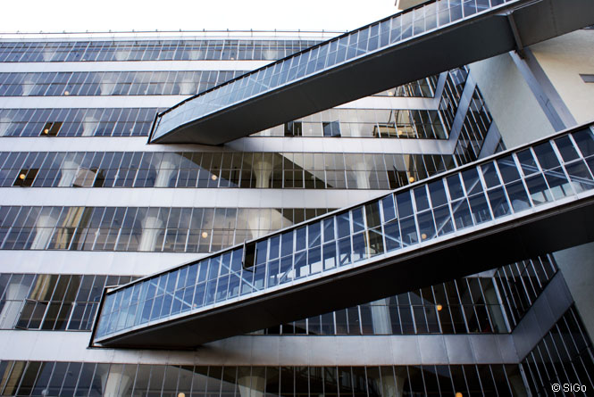 Van Nelle Fabrik Rotterdam - Glasfassade