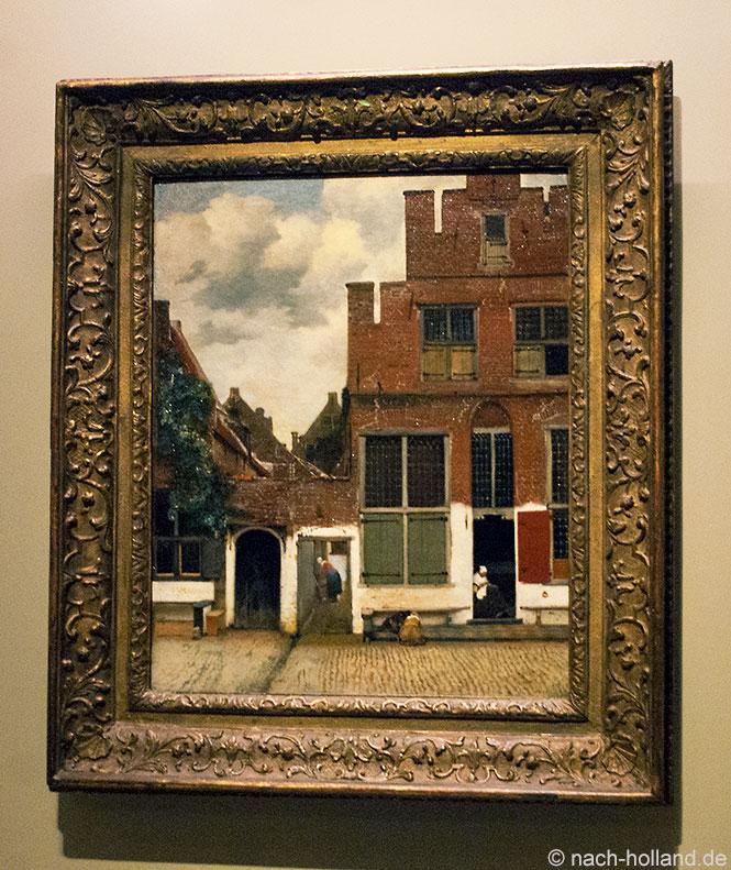 Vermeer Delft Kleine Strasse