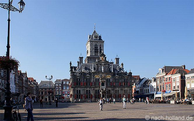 Vermeer Delft Marktplatz