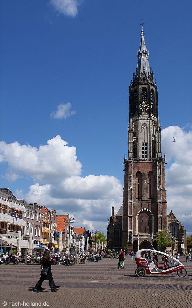 Vermeer Delft Nieuwe Kerk