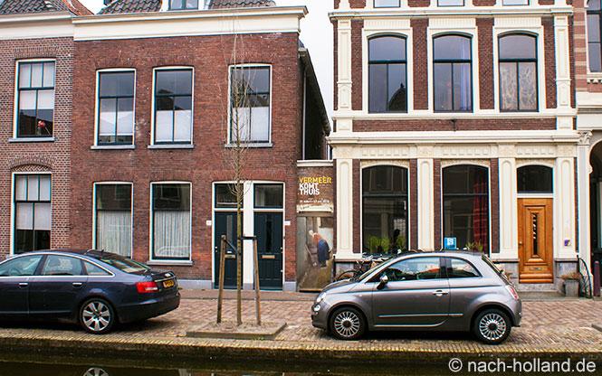 Vermeer Delft Vlamingstraat