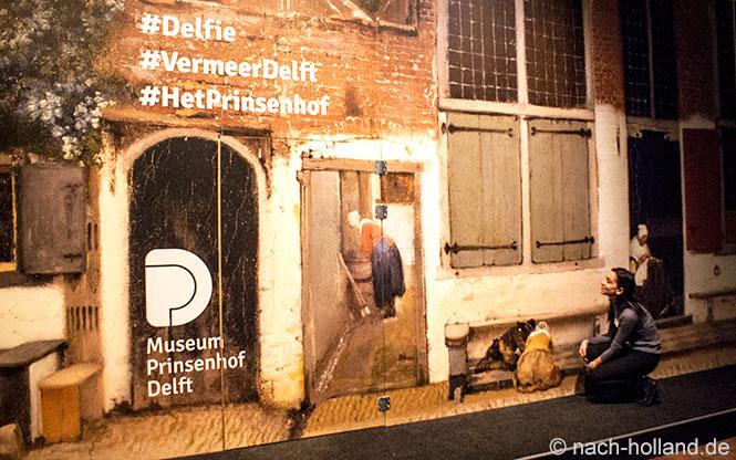 Vermeer Delft Delfie
