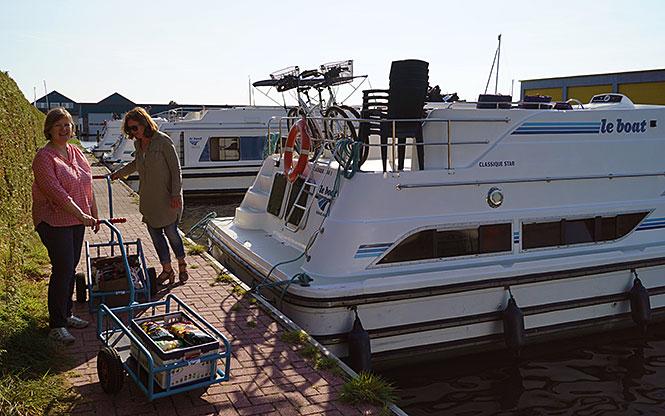 hausboot gepäck