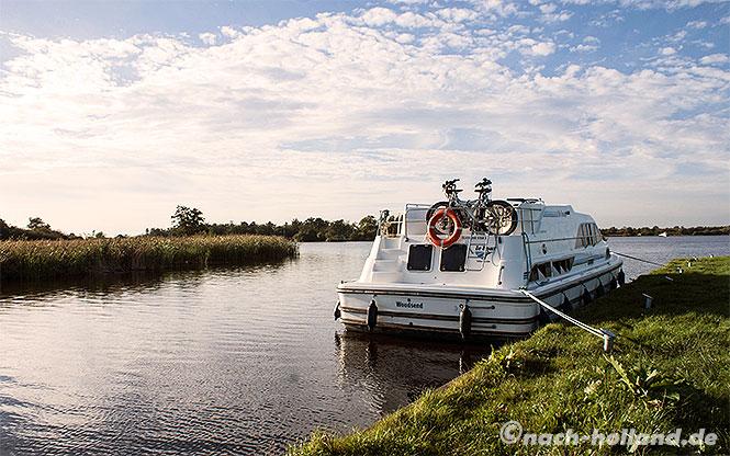 hausboot natur