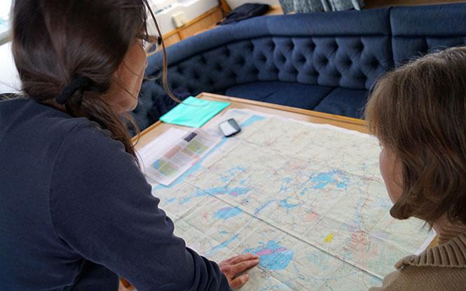 hausboot routenplanung