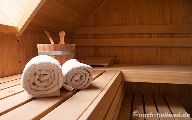 hof van saksen, sauna