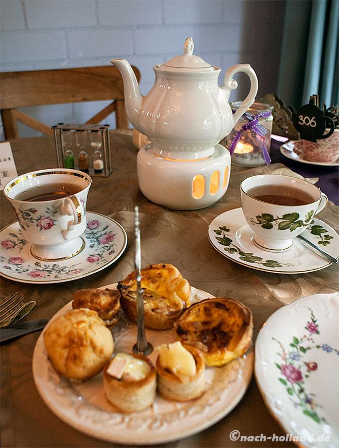 hof van schoor -  afternoon tea