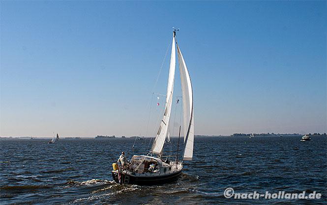 holland wasser segelboot