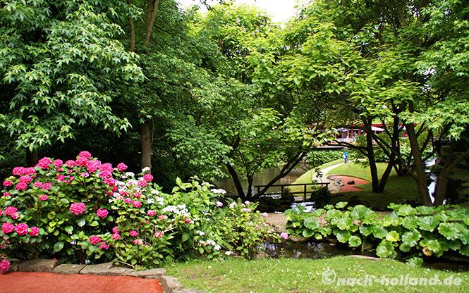 kasteeltuinen berggarten minigolf