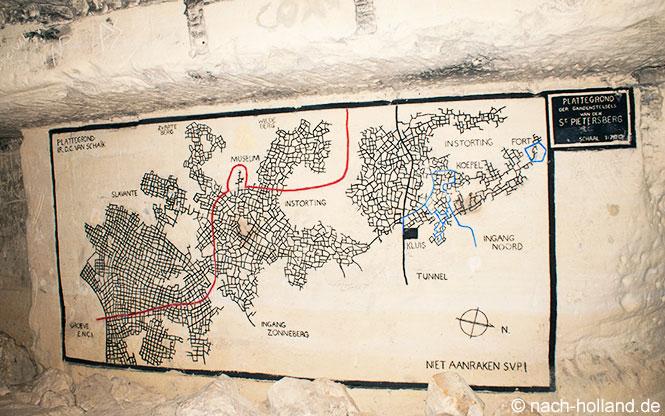 maastricht grotten lageplan