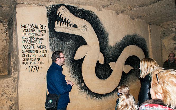 maastricht grotten mosasaurus