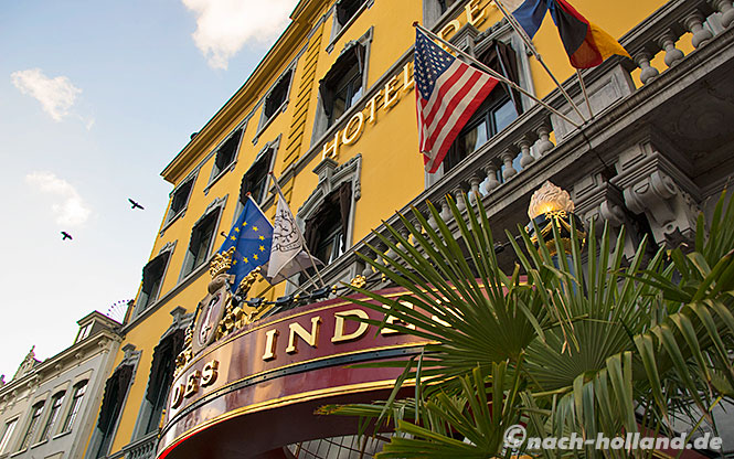 den haag shopping, hotel des indes