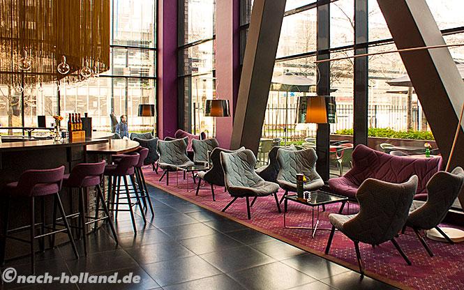 eindhoven, art hotel lobby