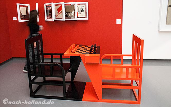 eindhoven van abbe museum, schach