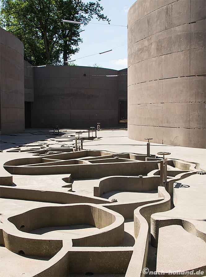 fort vechten utrecht, waterliniemuseum modell