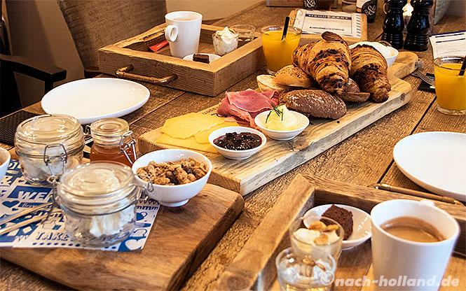 gouda brownies & downies frühstück