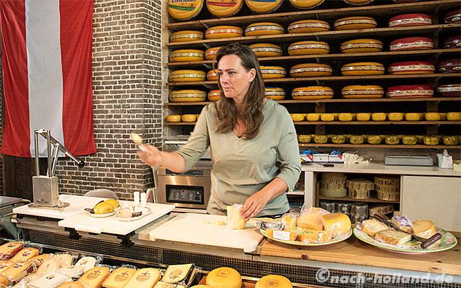 gouda kaaswinkel in der waag