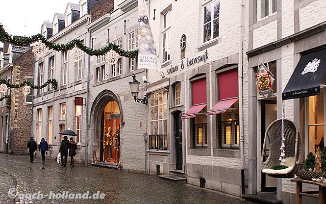 maastricht weihnachts shopping