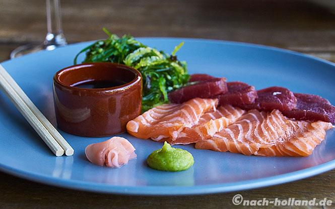 restaurant de kust utrecht - sushimi