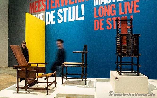 centraal museum utrecht - rietveld stühle