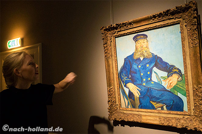 Haarlem, Frans hals museum, van gogh