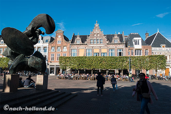 Haarlem marktplatz