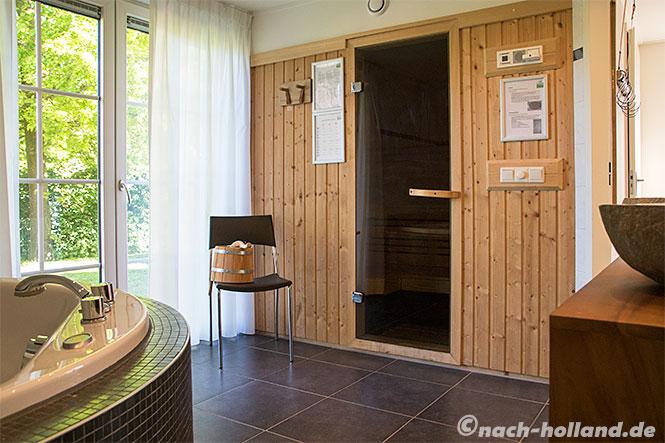 landal orveltermarke, ferienhaus sauna