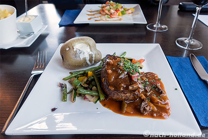 landal orveltermarke, restaurant dinner