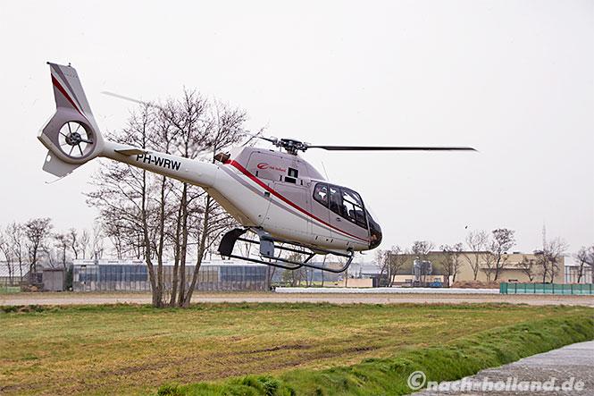 noordwijk helikopter
