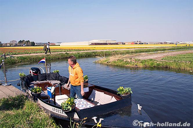 noordwijk tulpen bootstour