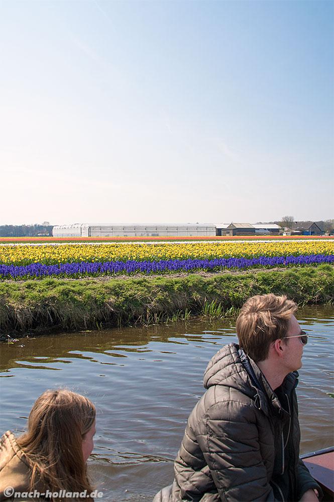 noordwijk tulpen bootsfahrt