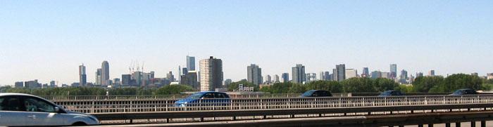 Anfahrt Rotterdam