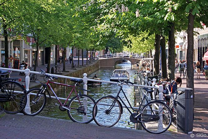 Grachten von Delft