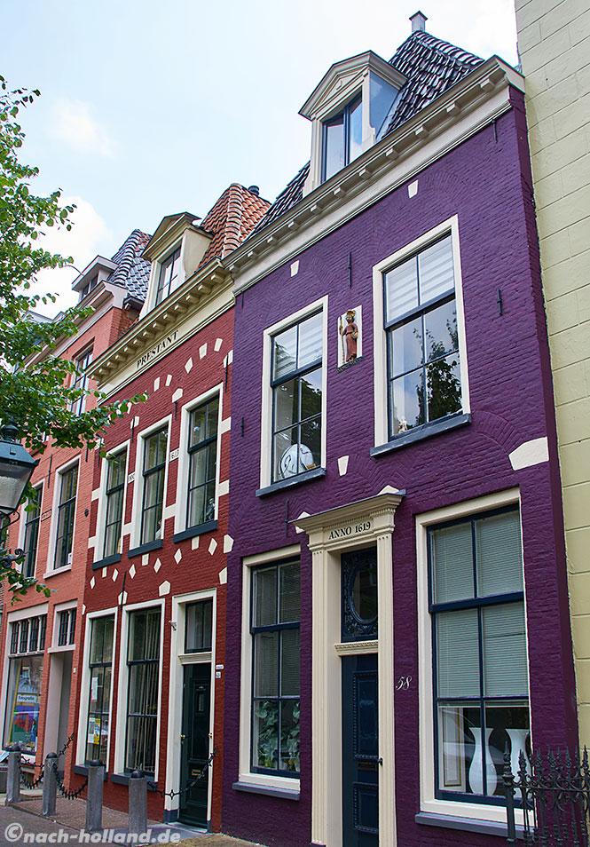 Schöne Fassaden in Leeuwarden