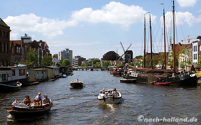 Leiden Bootstour
