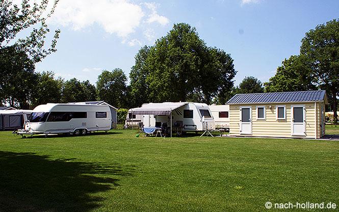 Komfortplatz mit eigenem Sanitär - Campingplatz de Leistert in der Nähe von Roermond