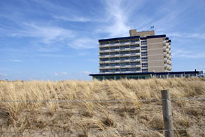 Hotel Atlantic in Kijkduin Holland